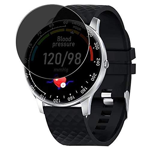 Vaxson TPU Pellicola Privacy, compatibile con Peakfun H30 smartwatch Smart Watch, Screen Protector Film Filtro Privacy [ Non Vetro Temperato ]
