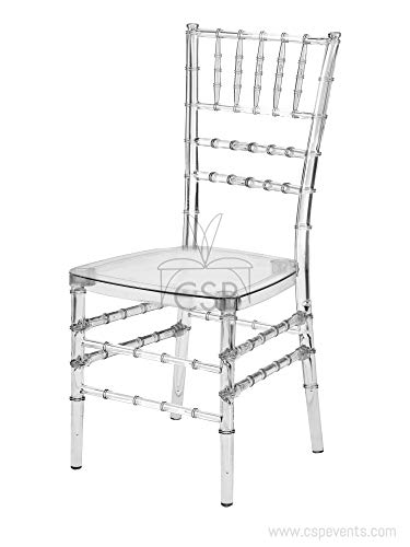 Commerical Seating Products Clear Chiavari Dining Chairs