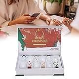 Kit de esmalte de uñas, caja de regalo de barniz de manicura, 6 colores para decoración de uñas, gel UV, esmalte de manicura, juego de regalo, brillo, remojo, gel, herramienta para decoración de uñas