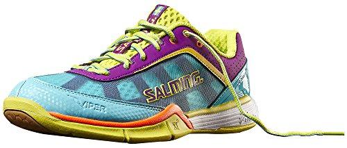 Salming Salming Viper 3 Women Handballschuhe Turquoise/CactusFlower Größe 36
