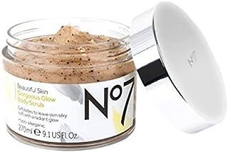No7 Beautiful Skin Gorgeous Glow Body Scrub - No7美しい肌ゴージャスな輝きボディスクラブ (No7) [並行輸入品]