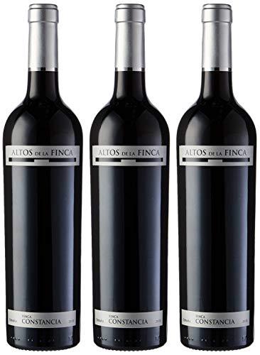 Altos de la Finca - Vino V.T. Castilla - 3 botellas x 750 ml - Total: 2250 ml