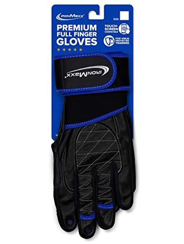 Premium Vollfinger Handschuhe - Größe L/XL - Trainings-Handschuhe, Sport-Handschuhe - Touch Screen kompatibel - Fullfinger Training Gloves