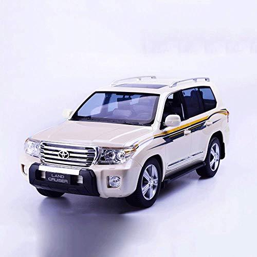 YLJYJ Vehículo Recargable de 2,4 GHz, Modelo de Carrera Deportiva electrónica, Coche controlado por Radio con neumáticos de simulación, Escala 1:24, inalámbrico (Coche Inteligente)