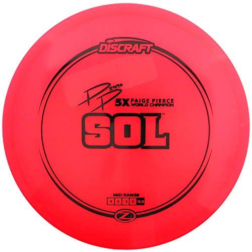 Discraft Paige Pierce Signature Elite Z Sol Midrange Golf Disc [Colors May Vary] - 170-172g