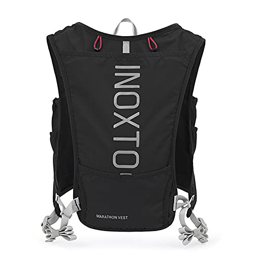 5L Running Vest Pack Hydration Backpack with 2L Water Bag Men Women Outdoor Sports Bag for Marathon Cycling Hiking