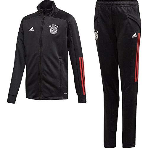 adidas Kinder Trainingsanzug 20/21 Fc Bayern Track Suit, Black/Fcbtru, 152, FR5365