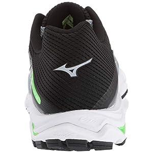 Mizuno Men's Wave Inspire 15 Running Shoe, Quarry-Stormy Weather, 11.5 D US