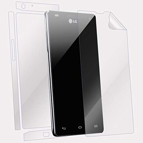 Snooky Full Body Front and Back Full 360 Protection TPU Soft Film Screen Guard for Lg Optimus P765