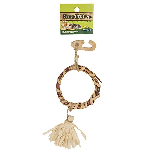 Ware Manufacturing Natural Hang-N-Hoop Small Pet Chew Toy
