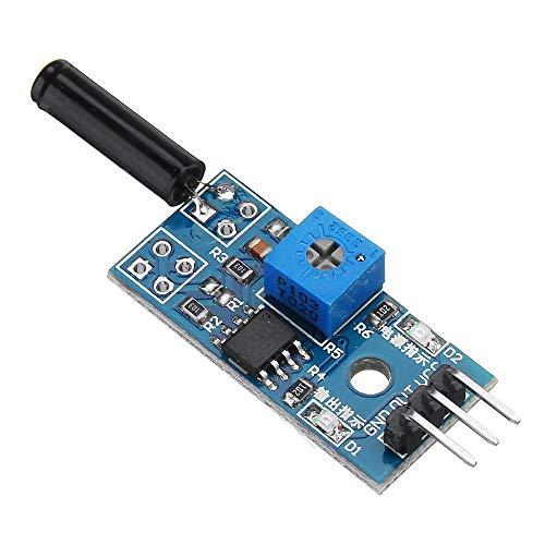 Duradero Vibración interruptor de la alarma del sensor de vibración del módulo del sensor Smart Module Accesorios de coches for A-r-d-u-i-n-o - productos que funcionan con placas A-r-d-u-i-n-o oficial
