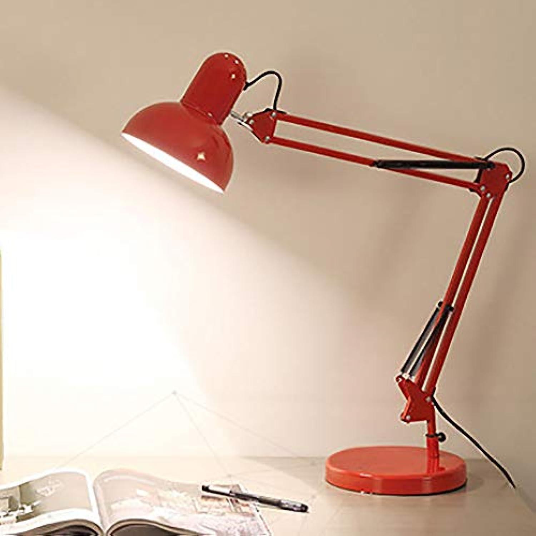 ZUEN Led tischlampe augenschutz tischlampe elastisch Schwinge arm Lampe Clip Lampe Lernen Arbeit büro Studie Nacht klapp Clip füllen licht tischlampe