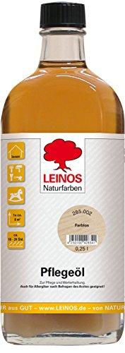 Leinos Pflegeöl/Reinigungsöl im Innenbereich; 0,25 Liter (1 L = 45,00 EUR),Nr.285