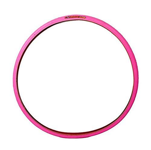 BFFDD Fahrrad-Reifen-700C 700 * 23C Fahrradreifen Ultra 480g Rennrad Reifen Anti-Stich Vitalität Multi-Color (Color : Pink)