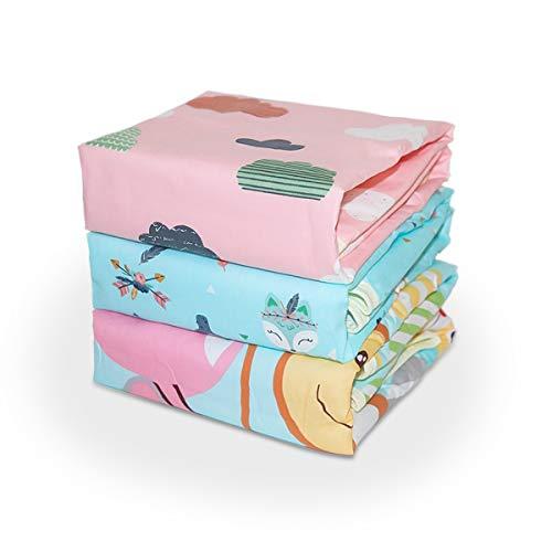 Fasciatoio per neonato,Fasciatoio per neonato portatile,impermeabile Bambino pannolino lavabile Passeggino portatile da viaggio per casa Lenzuolo mestruale Cuscino per animali domestici Pad (3 pezzi)