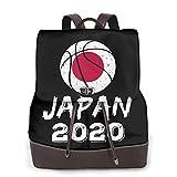 リュック レディース マザーズバッグ バスケットボール ジャパン 2020年東京オリンピック カバン ビジネス 本革レザー 大容量 防水 旅行 バックパック リュックサック カジュアル パソコンリュック ショルダーバッグ ポシェット 軽量 人気 おしゃれ 鞄 PC収納可能 多機能