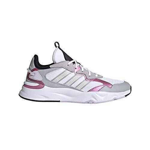 adidas FUTUREFLOW, Zapatillas de Running Mujer, FTWBLA/Blatiz/MATPUR, 40 EU