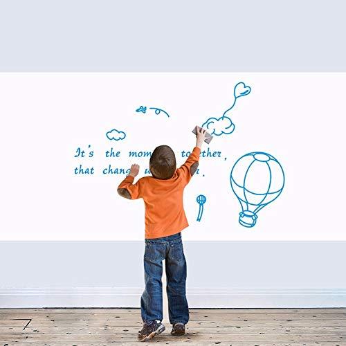 Muurstickers 45Cm X60 Cm Recordable Erasable White Board Muurstickers Voor Kids Slaapkamer Studeerkamer Verwijderbare Zelfklevende Board Voor Tekenen Muurstickers