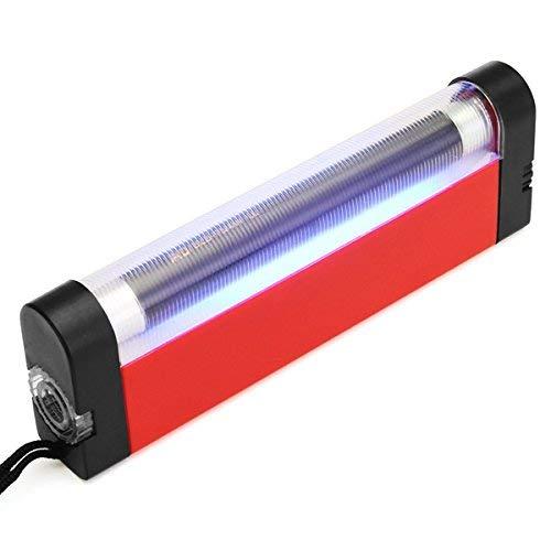 MASUNN Lámpara De Mano Luz UV Portátil 4W para Diagnóstico De Piel Linterna Antorcha Luz