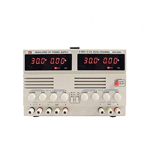 Best Deals! Precise Adjustable DC Stabilized Power Supply MCH-302D-II Linear Ammeter Mobile Phone Re...