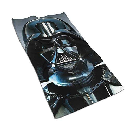 Mj-Shop Toalla de Manos de Secado rápido súper Absorbente Suave de Stars-Wars/Toalla de baño/Toalla de Playa- 27.5 X 17.5 Pulgadas