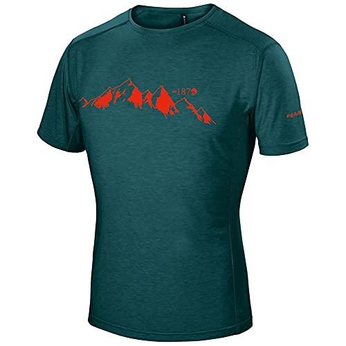 Ferrino YOHO T-Shirt Uomo Emerald Maglietta Maniche Corte Cotone M