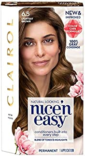 Clairol Nice 'n Easy Permanent Color 6.5 Natural Lightest Brown 1 ea (Pack of 3)