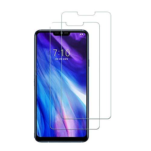 [2 Pack] LG G7 ThinQ Pellicola Protettiva, Pellicola Vetro Temperato LG G7 ThinQ,Durezza 9H, Pellicola Protettiva Protezione Protettore Glass Screen Protector per LG G7 ThinQ, Trasparente