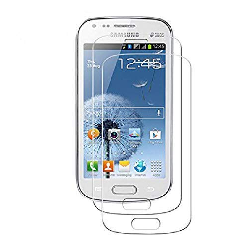 [2 Pack] Protector Cristal Vidrio Templado Samsung Galaxy Trend S Duos / Plus ( GT-S7562 / 7562 ) – Pantalla Antigolpes y Resistente al Rayado
