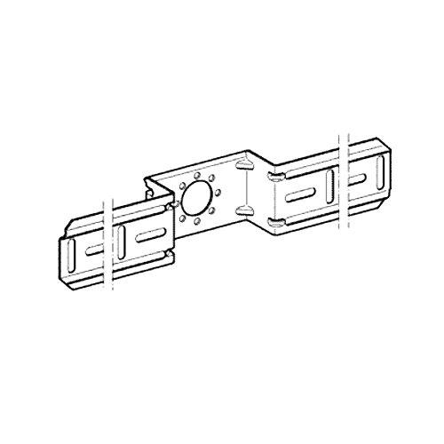 Geberit Mepla Montageplatte fuer einen Armaturenanschluss 601733001