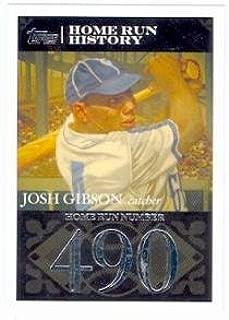 Josh Gibson baseball card (Homestead Dreys) 2007 Topps #JG63