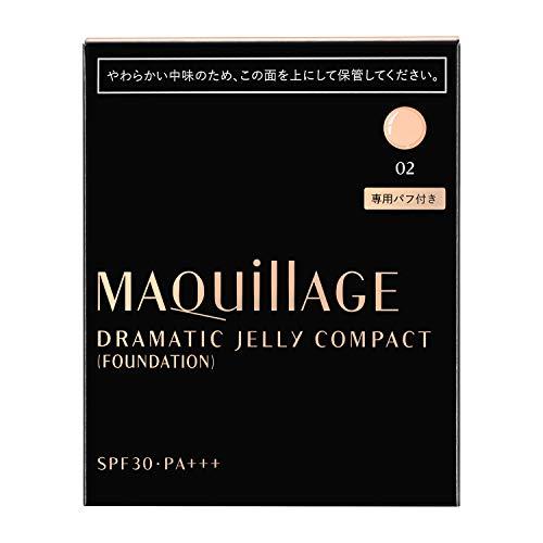 MAQUILLAGE(マキアージュ)ドラマティックジェリーコンパクト(レフィル)ファンデーション214g