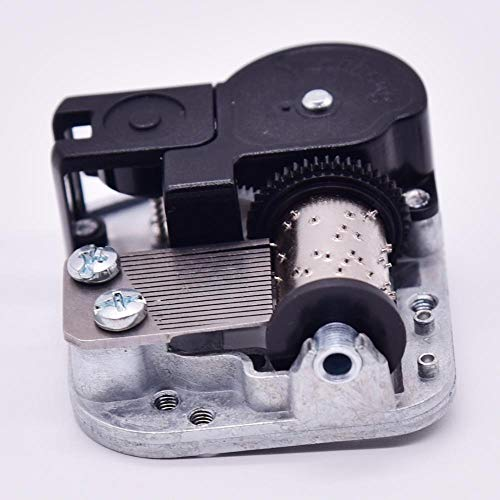 Clockwork Mechanism DIY Music Box Beweging for de vervanging van oude Music Box QPLNTCQ (Color : City of Stars, Size : Free)