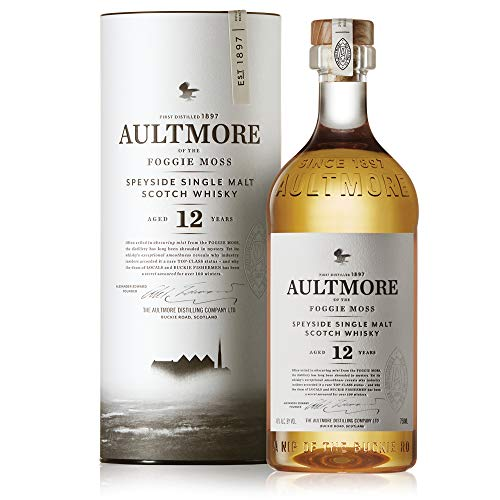 Aultmore Scotch Whisky Single Malt Speyside 12 Anni, 750ml