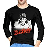 DaBaby Mans Long Sleeve T-Shirt Fashion Classic Round Neck Top Long Sleeve Cotton Tee M Black