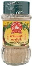 White Pepper Powder 100% Thai Natural Herb Nguan Soon Hand Brand No.1 60 Grams Made in Thailand