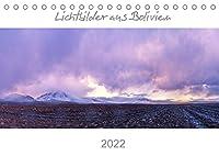 Lichtbilder aus Bolivien (Tischkalender 2022 DIN A5 quer): Bolivien - Berge, Lagunen u. La Paz (Monatskalender, 14 Seiten )