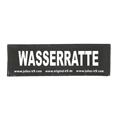 Julius K9 8151152 2 Klettsticker S. Wasserratte