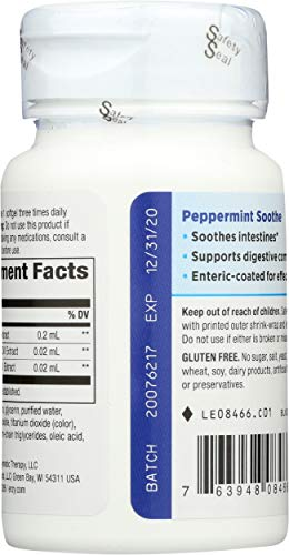 Nature's Way Peppermint Soothe, 60 Softgels (Packaging May Vary)