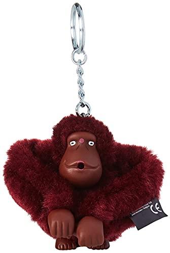 Kipling Monkeyclip M - Bolsos cruzados, talla única, color Rojo, talla One Size
