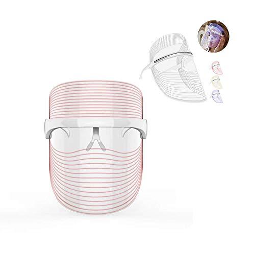 QLHYSYS LED Photon behandeling masker schoonheid gezichtsverzorging huidverzorging fotobehandeling lamp mannen vrouwen rood