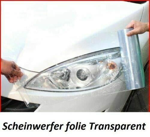 LEON-FOLIEN Scheinwerfer Folie Transparent 100cm x 30cm Tönung Nebel (21,97 EUR pro m²) Rückleuchten Vorderleuchten