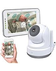 ELRO Baby BC3000 Baby phone Royale-Babyfon-z ekranem dotykowym 12,7 cm monitor HD i aplikacja