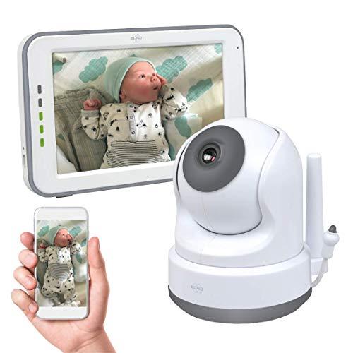 Elro BC3000 Baby Monitor Royale HD Babyphone con schermo tattile da 12,7 cm e app