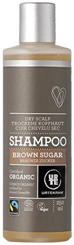 Urtekram Brown Sugar Shampoo BIO, trockene Kopfhaut, 250 ml