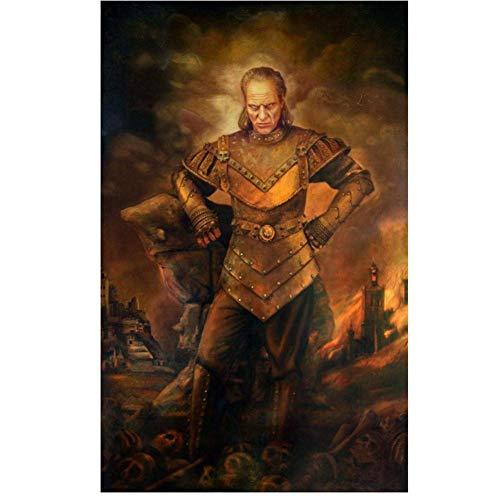 NRRTBWDHL die Karpaten Kunstdruck Poster Ghostbusters Gemälde Leinwanddrucke Wandkunst für Wohnzimmer Schlafzimmer Dekor Druck auf Leinwand-50x70cm No Frame
