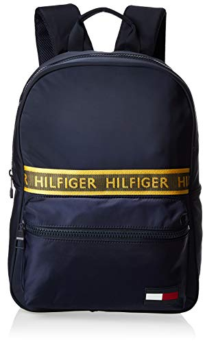 Tommy Hilfiger Herren Sport Mix Backpack Solid Geldbörse, Blau (Tommy Navy), 1x1x1 cm