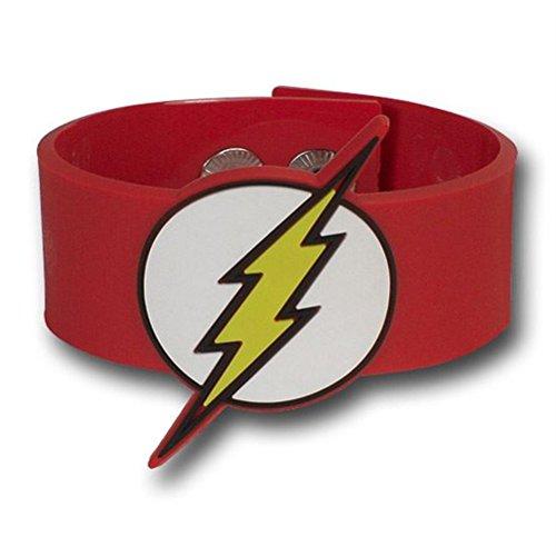 DC Comics Pulseras de PVC Moldeado por Flash