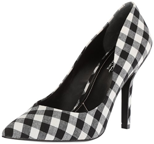 CHARLES BY CHARLES DAVID Women's Maxx Pump, Black/White, 5.5 M US