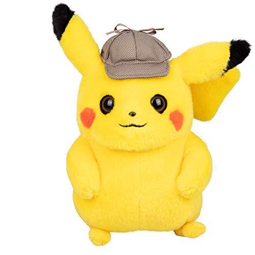 Pokèmon 97563 Detective Pikachu 8 Pulgadas de Felpa, Multicolor
